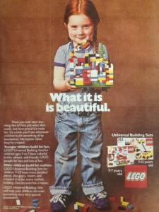 Lego ad, 1984