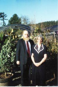 Dad and Mom, circa 2001