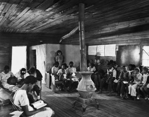 Segregated school in Georgia, 1941