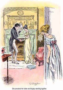 Pride and Prejudice illustration