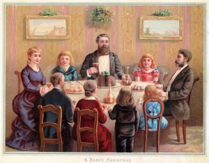 The Idealized Victorian Family