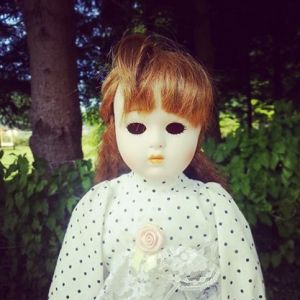 Creepy Doll: $0.25