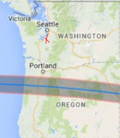 Path of 2017 Eclipse Totality